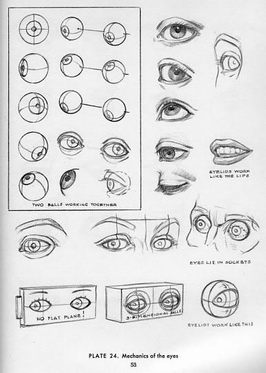 ... oog tekent, begint met een bal (geen cirkel en zeker geen amandel) die: forum.scholieren.com/showthread.php?t=1865184